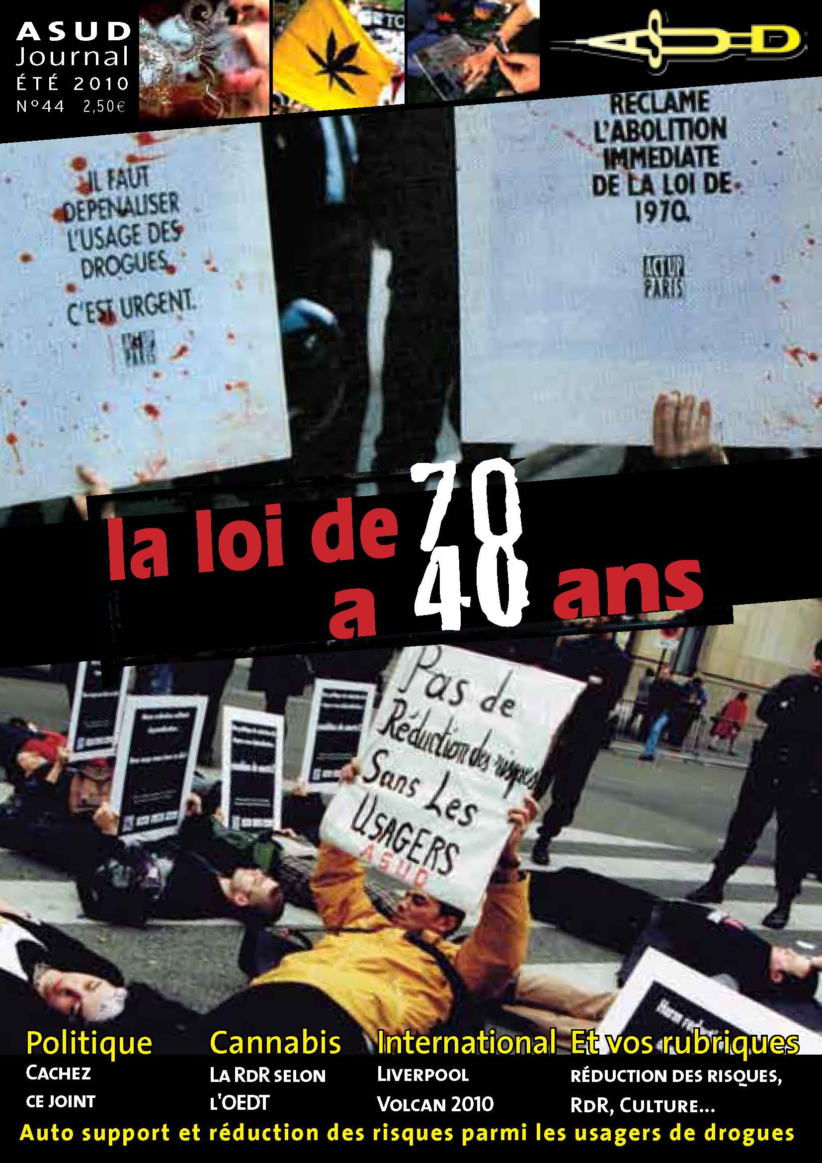 N°44 : La loi de70 a 40 ans