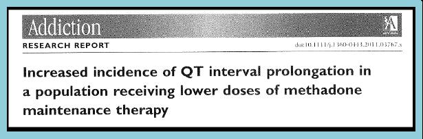 Méthadone et QT long (3)