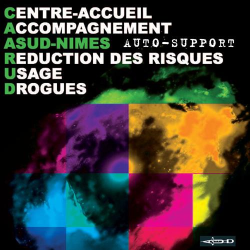 Dépliant présentation d'ASUD Nîmes couv