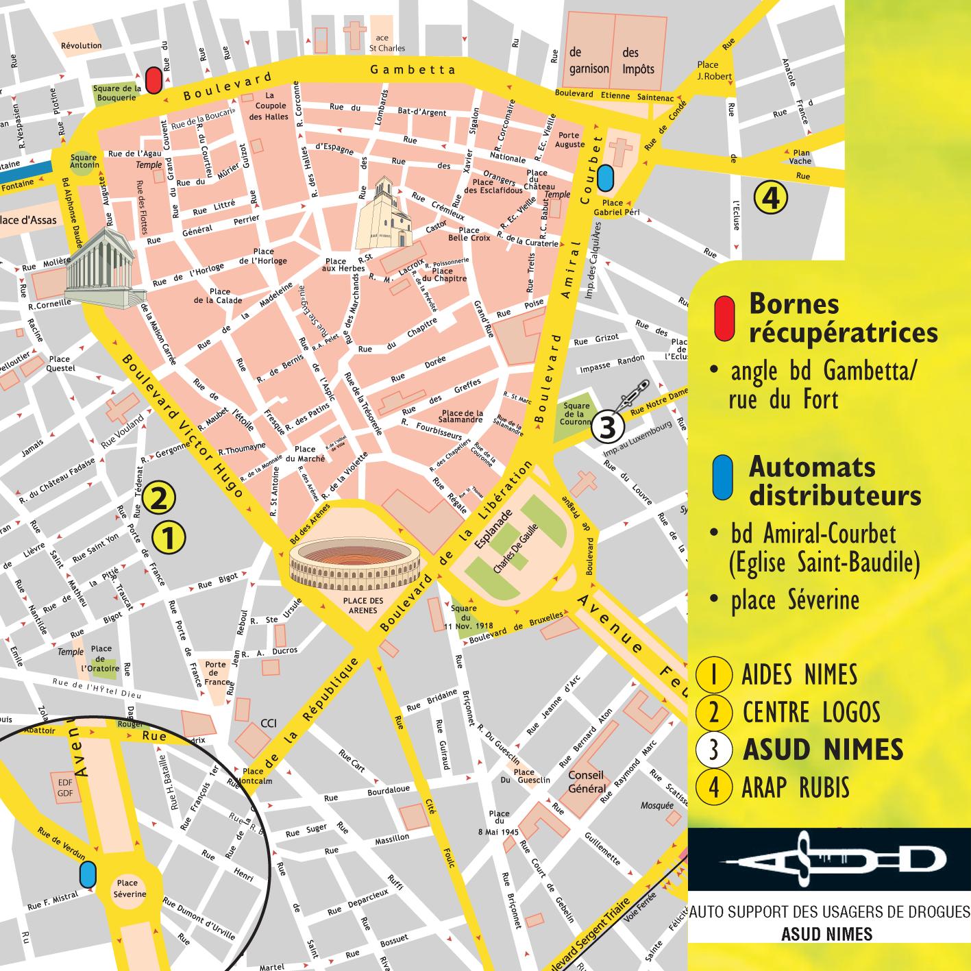Plan de n mes for Maison de la literie nimes