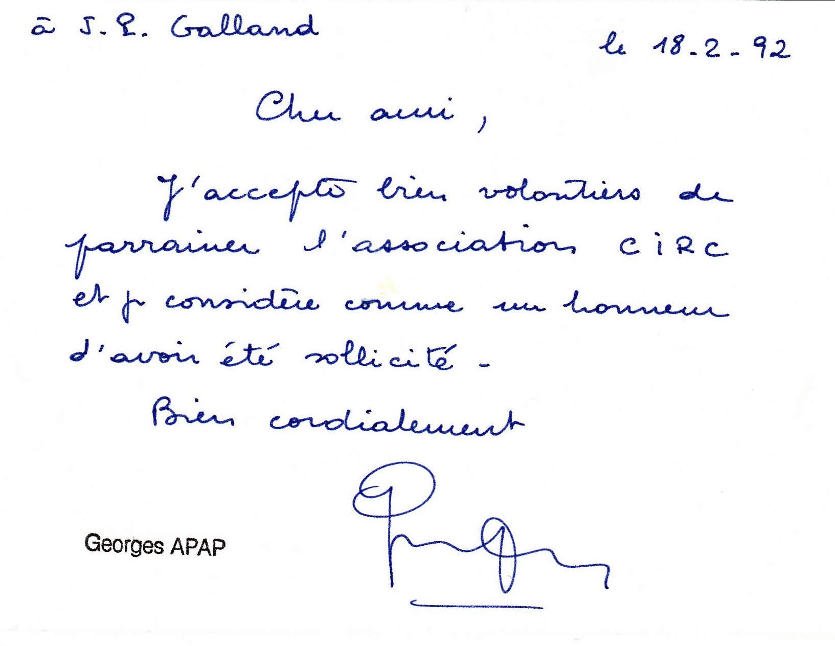 Georges Apap 1992