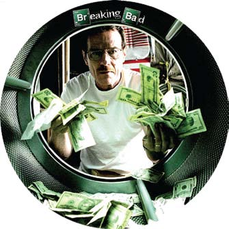 Breaking Bad washing money