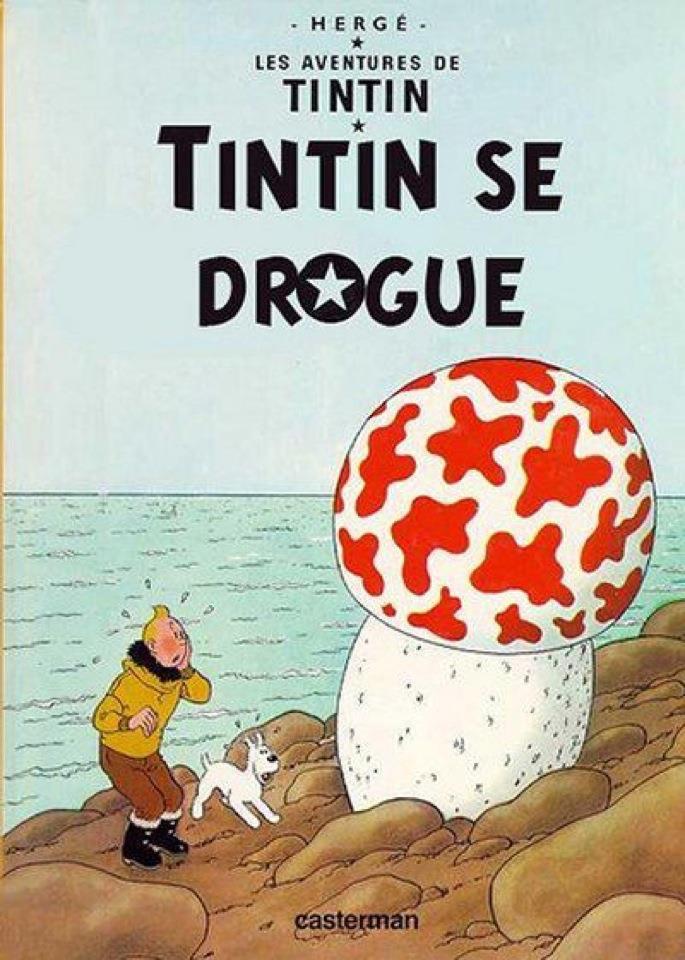 Tintin se drogue