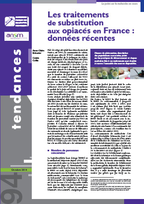 Tendences 94 OFDT Les TSO en France (octobre 2014))