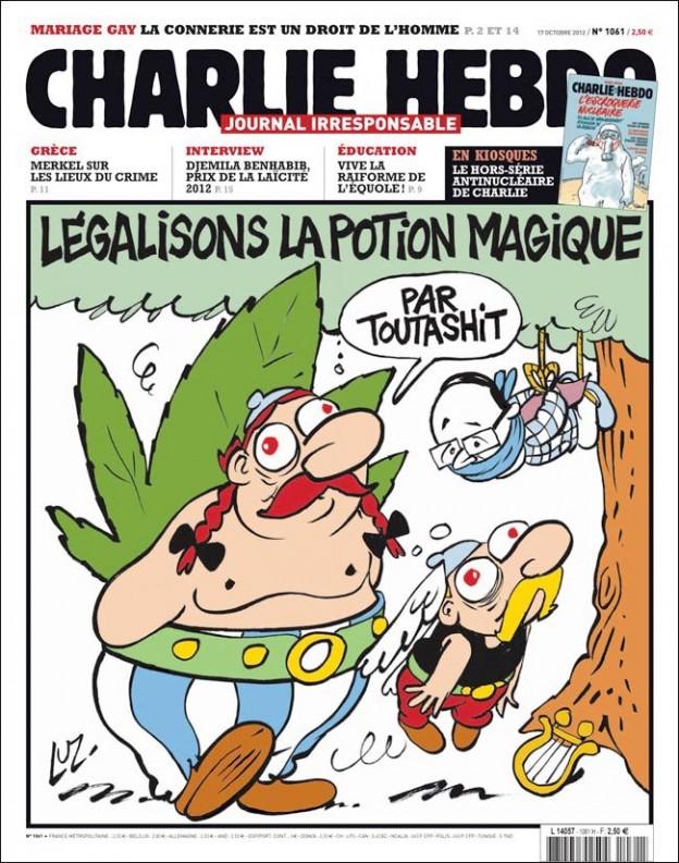2012-10-17 [Charlie Hebdo] Légalisons la potion magique