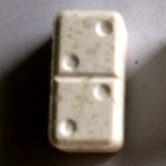 196mg de MDMA<br />Domino (mai 2014)