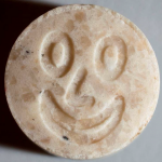 155mg MDMA<br />Smiley (mars 2014)