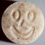 155mg MDMA<br />Smiley (mars 2014)