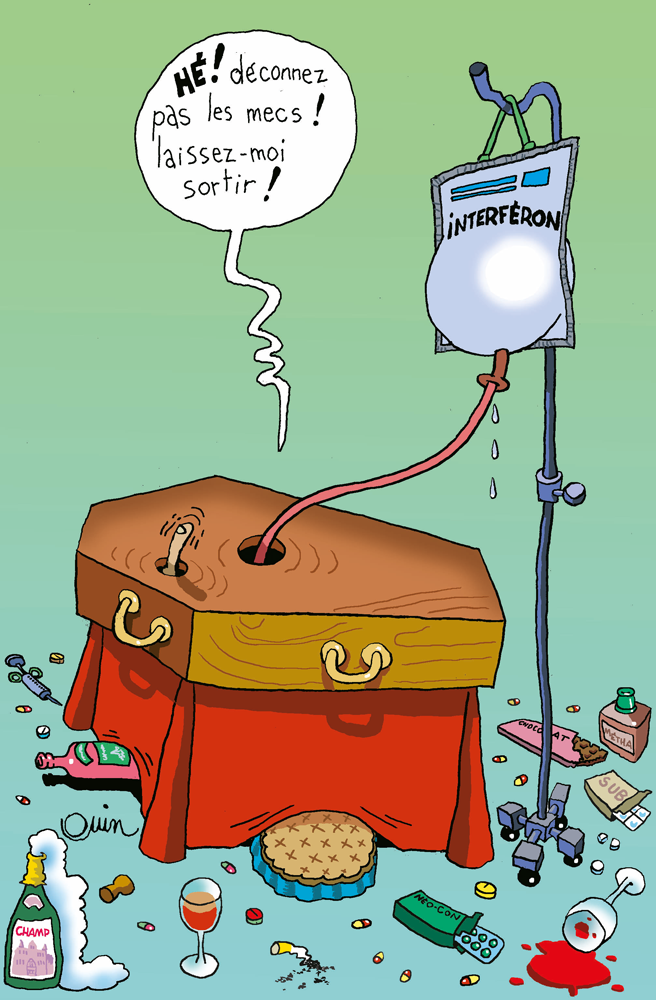 interferon-VHC-Ouin-Bloodi