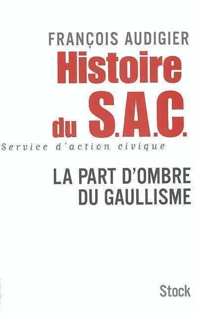 Histoire du SAC couverture