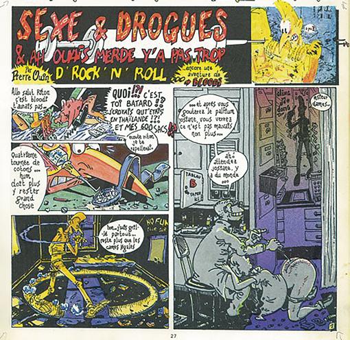Ouin Bloodi Sexe, Drogues & No Rock extrait 1
